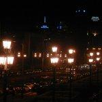 view from Av. Reina Maria Cristina (Montjuic)