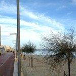 Apartamento (esquina izquierda) playa delante