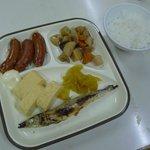 The 1000Yen breakfast