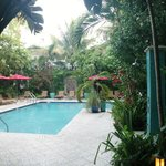 one of the four secluded pools
