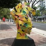 Art on the Paseo de Montejo, Merida