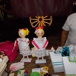 Craft Work at the Noche Mexicana, Inicio del Paseo de Montejo.