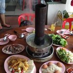 charcoal organic steamboat