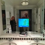 Do we really need a TV screen in the bathroom mirror?