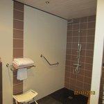 la salle de douche Marie