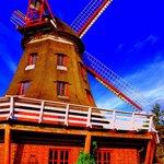 Blick auf die Mühle