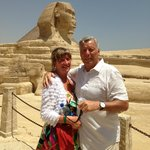 Julie and Peter Morris - Cairo - 26 June 2013