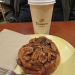 Coffee & Pecan roll
