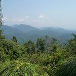 Panorama dalla Bukit Terisek