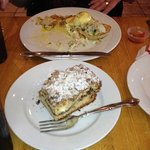 Eggs Benedict with Lump Crab meat *PERFECT* and coffee cake