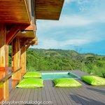 Terrasse with Jacuzzi - The Lodge