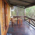 terrasse du cottage numéro 4