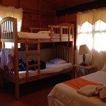 Habitación de cabaña