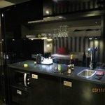 Кухонный уголок в номере