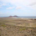 Vue depuis le volcan de Viahna