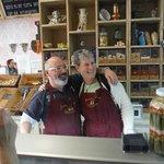 Visiting Paco at Jacinta Y Maria Chocolate Shop