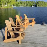 Muskoka Chairs on Main Dock