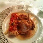suprême de volaille sauce réalisé avec du vin extra