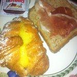 Parte do café da manhã
