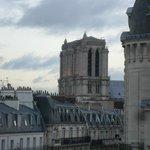 Dal terrazzino Notre-Dame.