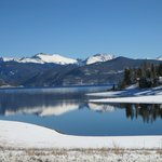 Snow and Open Water- Lake Granby
