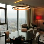 Tower-Suite Wohnbereich