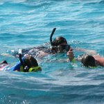 Snorkeling with Captain Shaun.