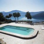 La piscine et la vue imprenable !