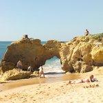 Typischer Central Algarve Strand