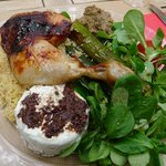 Chicken, lunch menu