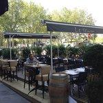La terrasse du Riva café du 1 mai au 1 octobre