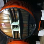 36000 litre oak barrel