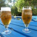Pause fraîcheur au bar