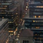 NYC Streets from Hotel Boutique Balcony