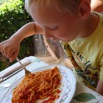 Spaghetti all'arrabiata