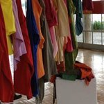 art installation with T-shirts you could try