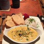 Yummy fish curry