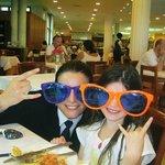 eva who made all our dinig experiences fab
