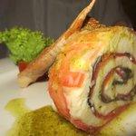 The Caprese Salad at Portofinos