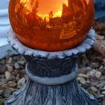 Orange Reflection Ball