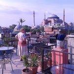 Cosmopolitan roof terrace