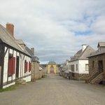 main street of Louisbourg
