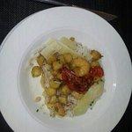 riz pétoncles et crevettes