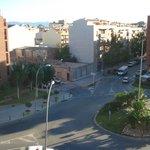 Vista desde la habitacion, de la Av. Dali