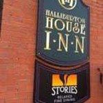 Stories Restaurant in the Halliburton Inn in Halifax, Nova Scotia
