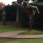 Statue of Payne Stewart