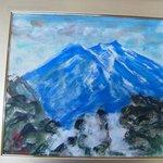 洋画界の巨匠、寺西進三郎氏の富士山