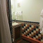 Room #2 Bath shower to left