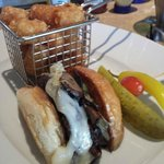 Kobe mushroom burger at 'Relish'