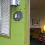 Room # 8 - Front door